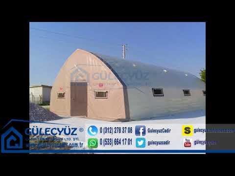 Konya Karatay Şatır Mah  8x14m nadide model solucan çadırı