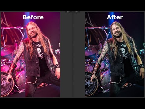How to edit Concert Photography photos in Lightroom.