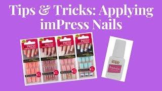 Tips & Tricks: Applying imPress Nails