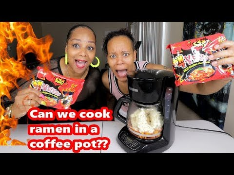 HOW TO MAKE 2X SPICY RAMEN NOODLES WITHOUT A STOVE OR MICROWAVE!!!