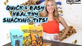Healthy Snacks - Ideas, Tips + Homemade Energy Bars Recipe