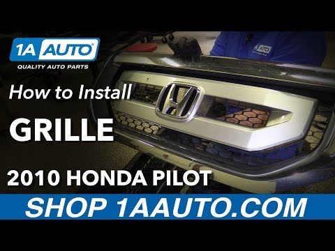 How to Replace Front Grille 09-15 Honda Pilot