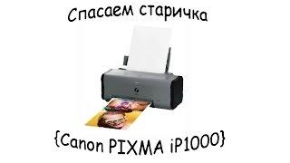 Спасение старичка {Canon PIXMA iP1000}