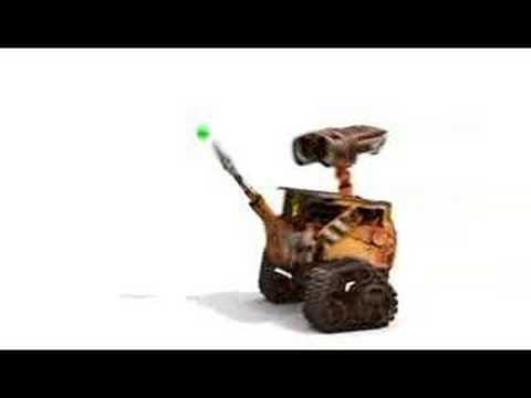 Wall E Meets Bouncy Balls Vignette Youtube