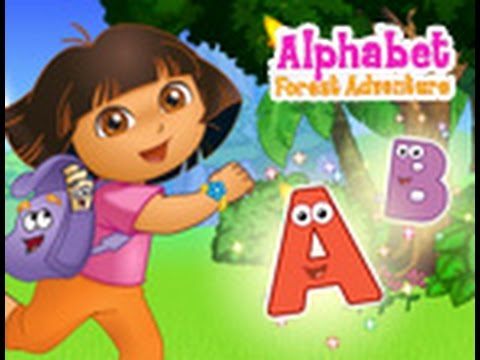 Dora The Explorer Alphabet Forest Adventure Movie Girls
