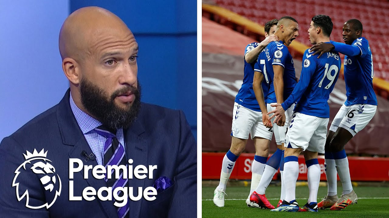 Reactions after Everton claim famous Merseyside derby win v. Liverpool | Premier League | NBC Sports