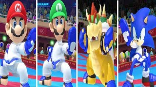Mario & Sonic at the Olympic Games Tokyo 2020 - Karate All Characters All Super Moves