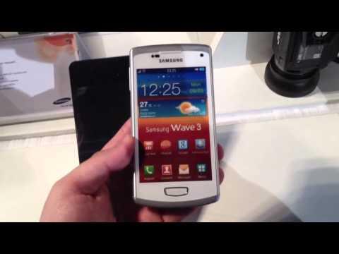 Samsung Wave 3 in weiß
