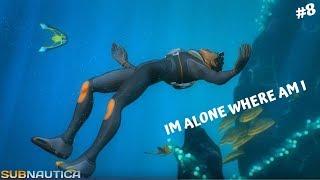 [TAMIL] IAM ALONE ALL ALONE   SUBNAUTICA  explore the ocean and its terror PART 8