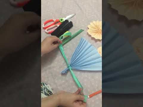 HOW TO MAKE FLOWER BOUQUET FOR CHILDREN'S DAY