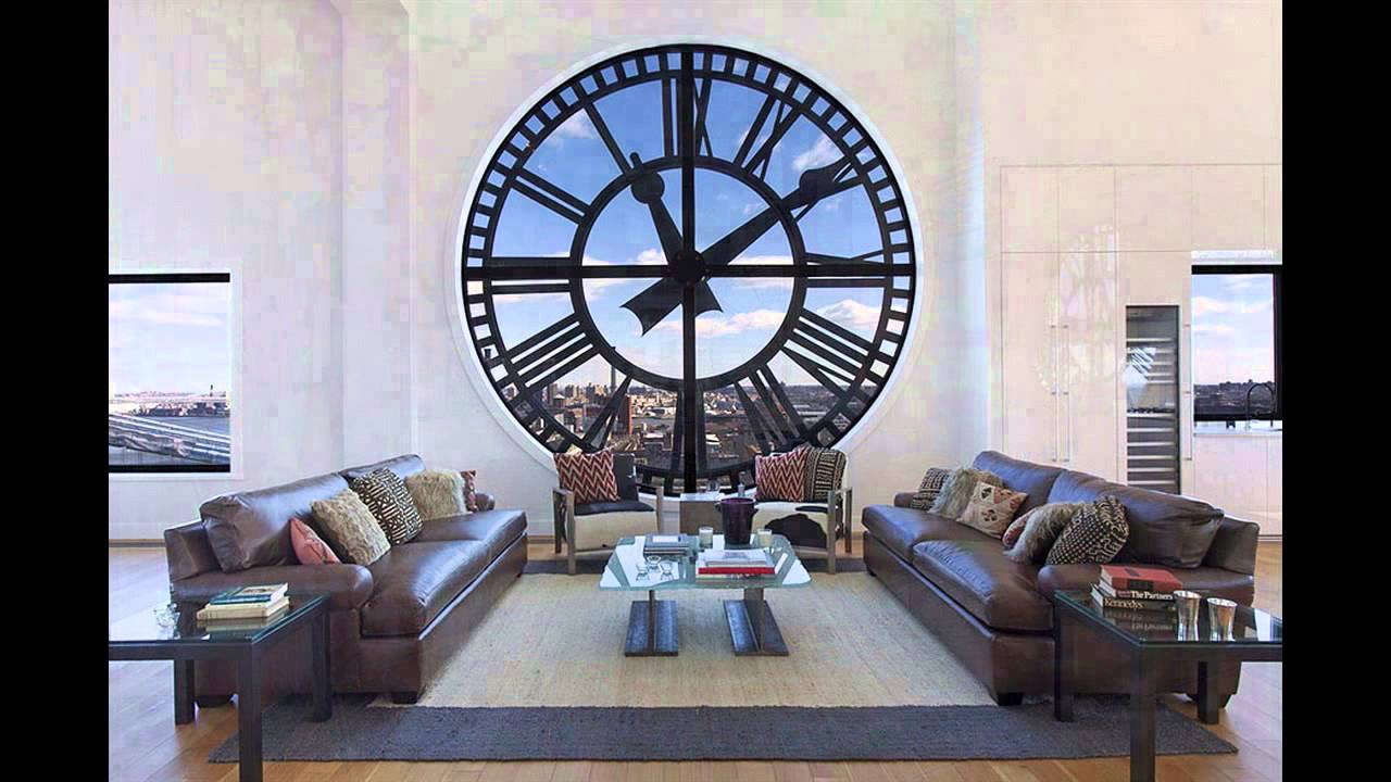 Clock tower triplex apartment in new york youtube for Design interieur maison limoges