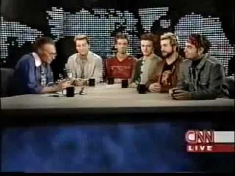 NSYNC on Larry King Live - Part 1