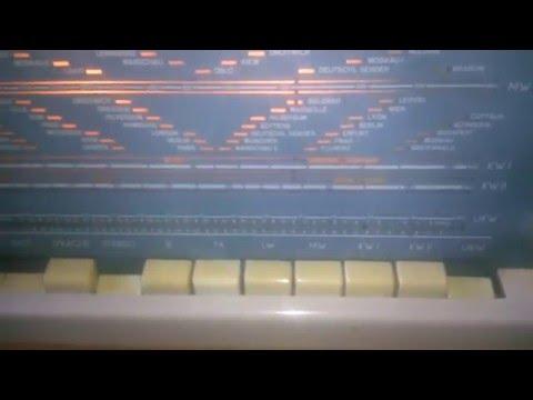 RFT Rochlitz Oberon Radio Stereobox Peter Plattenspieler DDR 60- er Jahre