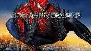 carte anniversaire spiderman gratuite a