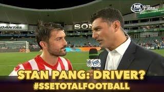 David Villa confirms who his driver is. Stan Pang?
