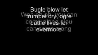 Queen - Ogre Battle (Lyrics)