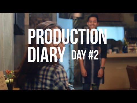 PRODUCTION DIARY DAY 2 CEMARA HUJAN FILM #kopiuntukcinta