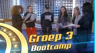 CNCO, Little Mix - Reggaeton Lento (Cover by: Groep 3) // The Bootcamp