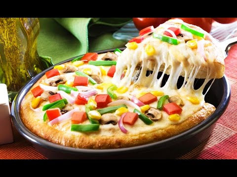 Veg Tawa Pizza Without Oven | Homemade Pizza Recipe Video