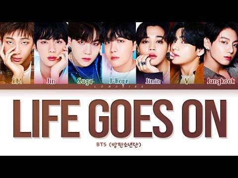 BTS Life Goes On Lyrics (방탄소년단 Life Goes On 가사) [Color Coded Lyrics/Han/Rom/Eng]