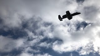 A-10 Warthog Gun Run (JTAC & JFO Training)