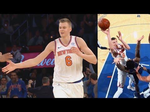 Kristaps Porzingis Career High 38 Points! Knicks 3 Game Win Streak! 2017-18 Season