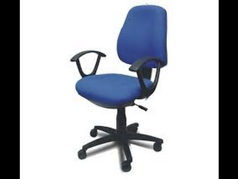 Tip para arreglar tus sillas de la oficina - YouTube