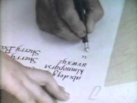 Lloyd Reynolds' Italic Calligraphy & Handwriting: Episode 8