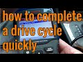 Gambar cover how to complete a drive cycle for smog in less than 30 minutes