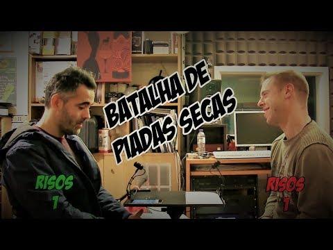Batalha de Piadas Secas Ep.2- Filipe vs Jorge | NãoQueresNada