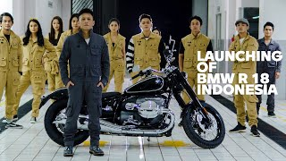 The New BMW R 18 Indonesia Launching Ft. Ariel Noah