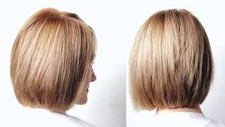 😍Как сделать идеальное каре на густые волосы. Урок для парикмахера. Академия правильной стрижки.