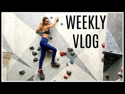 LEARNING TO ROCK CLIMB! | Weekly Vlog AD
