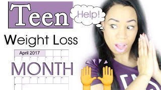 Teen Weight Loss Month - I Need your HELP