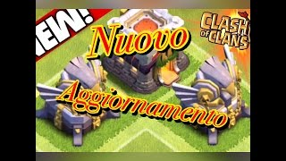Aggiornamento clash of clans ottobre 2015- Nuovo Eroe/nuova difesa