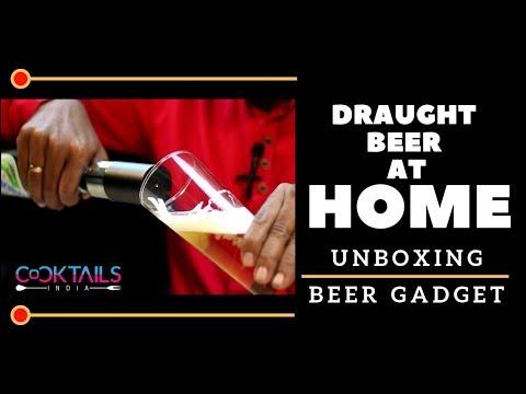 Draught Beer At Home   Unboxing Beer Gadget   How To Drink Beer   Dada Bartender   Beer Gadget