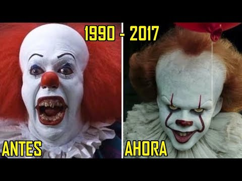 IT (ESO) 1990 VS 2017   ACTORES   (ANTES VS AHORA)
