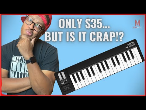 This is The Cheapest Midi Controller On Amazon! |MidiPlus AKM320 Review!|