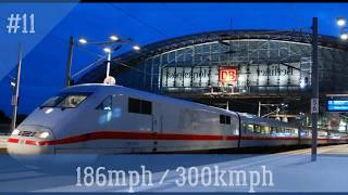 12 Fastest Train on Earth 2018