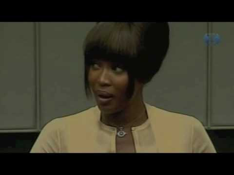 Naomi Campbell testifies in war crimes trial (Special Court for Sierra Leone)
