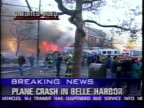 WNBC CH 4 Flight 587 Crash Coverage Belle Harbor 11/12/01
