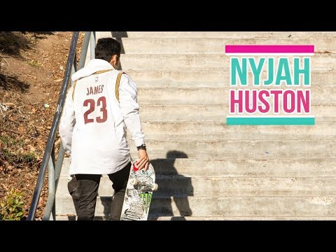 """Nyjah Huston Skateboarding 2018 """"God of The Street"""""""