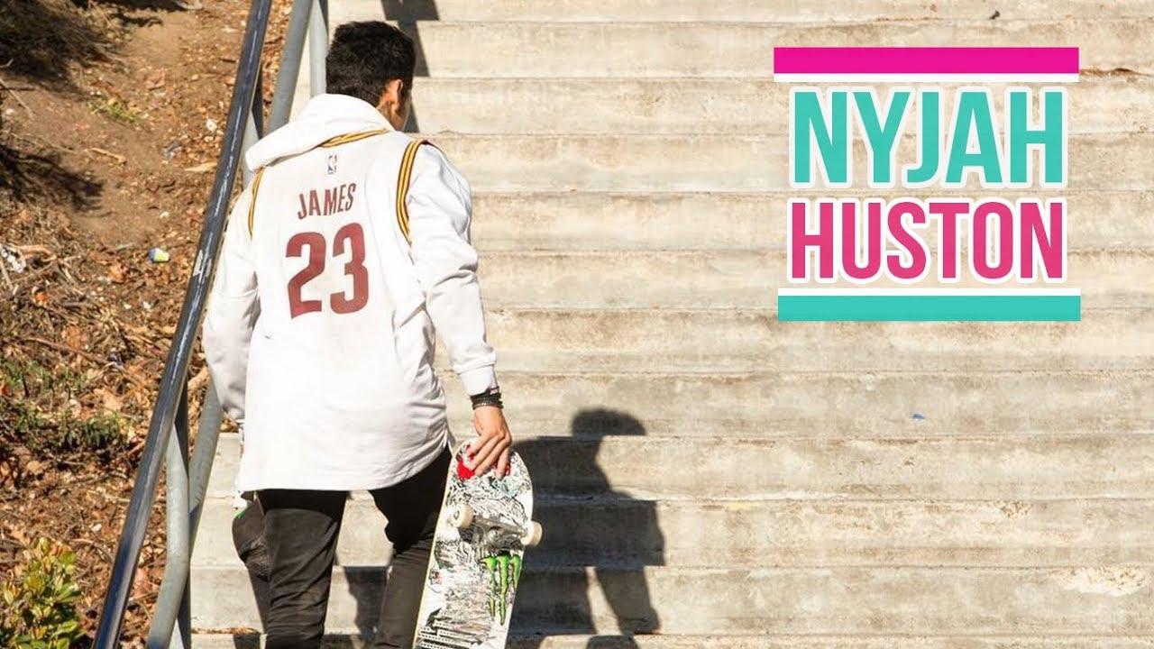 "Download Nyjah Huston Skateboarding 2018 ""God of The Street"""