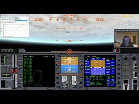 Orbiter 2010 - Fly With Me #10 - Free Return and Atmospheric Braking