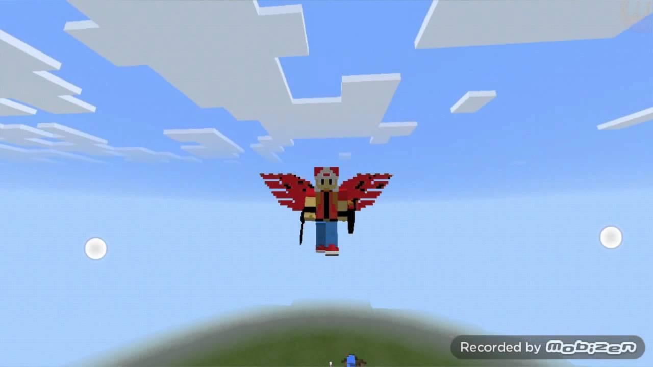 Descargar Minecraft Pe Skins Con Alas Y Armas Sólo Es El - Skins para minecraft pe con alas