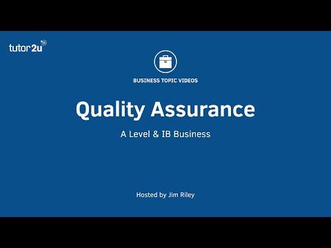 Quality Management - Quality Assurance