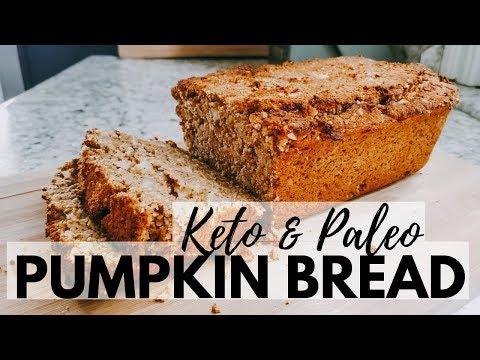 PUMPKIN SPICE BREAD   Keto Paleo Low Carb