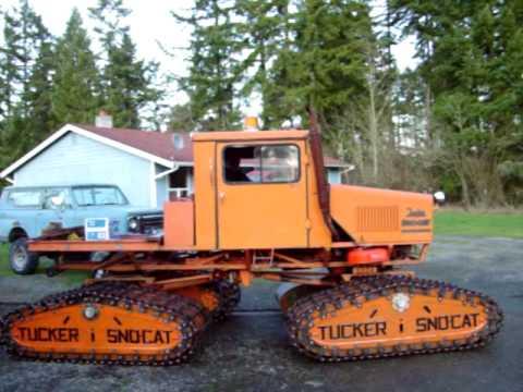 1983 Tucker 542A Sno-Cat