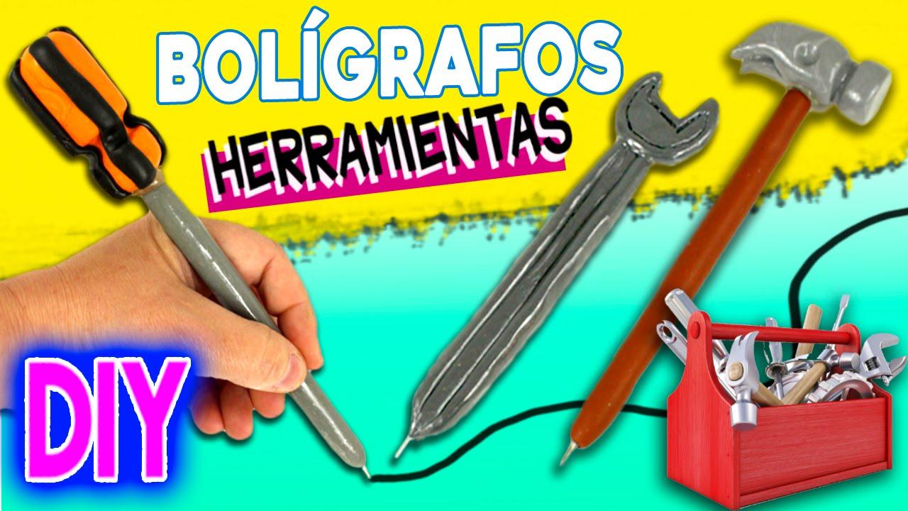 BOLÍGRAFOS decorados HERRAMIENTAS * Ideas para REGALAR - YouTube