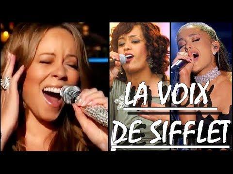 Les Notes TRES AIGUËS: Voix de Sifflet- Jessie J, Tamar, Chanté Moore, Minnie Riperton etc.